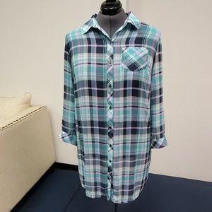 Catherine's Long Button Shirt Dress